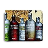 ShopMantra Vodka Bottle Printed Canvas Leather Wallet for Men's