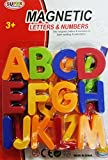 Smart Buy Magnetic Capital and Small Letter Alphabets Numbers (Multicolour)