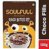 Soulfull Ragi Bites, Choco Fills - No Maida, High Calcium, 500g