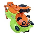 SUNBABY Playtime Panda Magic CAR (Green/Orange)