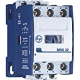 Tl L&T Cs94110 3 Pole Power Contactor 25A Mnx 25 240Vac, 5 X 10 X 5, White