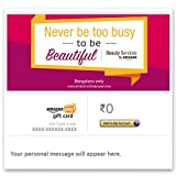 To view all services: amazon.in/beautyservices - Amazon Pay eGift Card