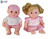 TOYFi - Children's First Choice® Beautiful Doll Set for Kids, Little Handsome Boy Beautiful Girl Doll Set for Kids (Style 4)
