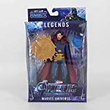WHITE POPCORN Figure The Avengers Infinity War 4 Endgame Marvel Legends Heroes Captain Marvel Figure Toys for Children (Doctor Strange)