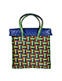 Women's Cottage Shopping/Grocery/Vegetable/Straw Baskets/Bags with Lid