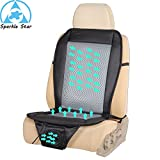 Wowobjects black fan : 12 v car air cushion car summer cool ventilated seat cushion, seat cover with fan, cooler seat cover for ford focus 2, for golf