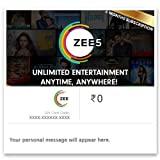 ZEE5 Half Year Subscription Digital Voucher