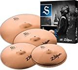 Zildjian S390 S Series Performer 4-Piece Cymbal Set (Gold)
