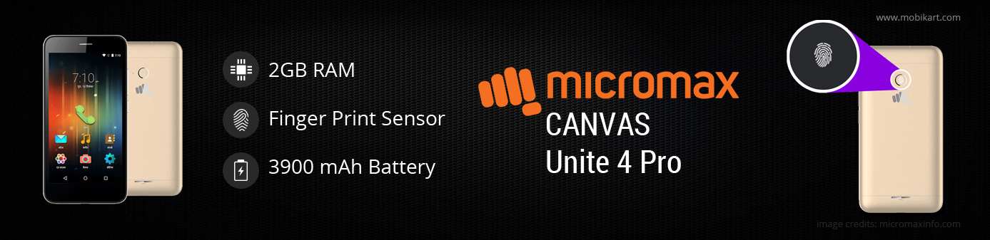 Micromax Canvas Unite 4 Plus vs Micromax Canvas Unite 4 Pro