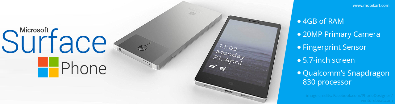 Microsoft Surface Phone is Rumored to Release in October 2016