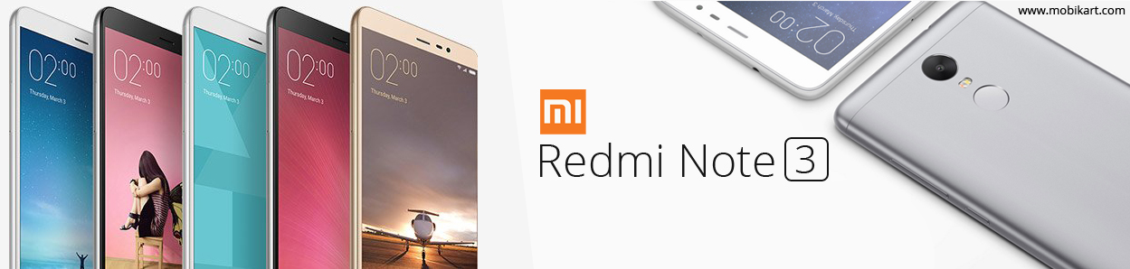 Xiaomi Redmi Note 3 Becomes Highest Selling Smartphone on mobikart.com
