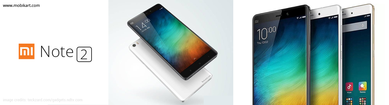 Do the Xiaomi Mi Note 2 is look-alike of Samsung Galaxy Note 7?