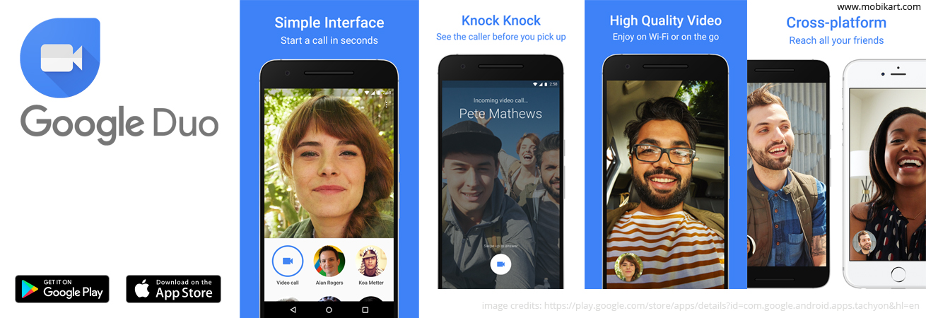 Google Duo app goes live and soon will be available in India