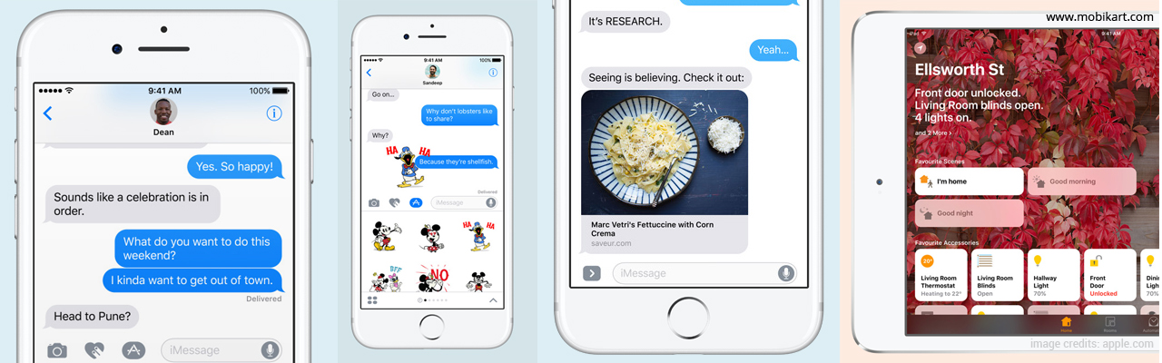 Apple iOS 10 Highlights - The Biggest iOS Release Ever