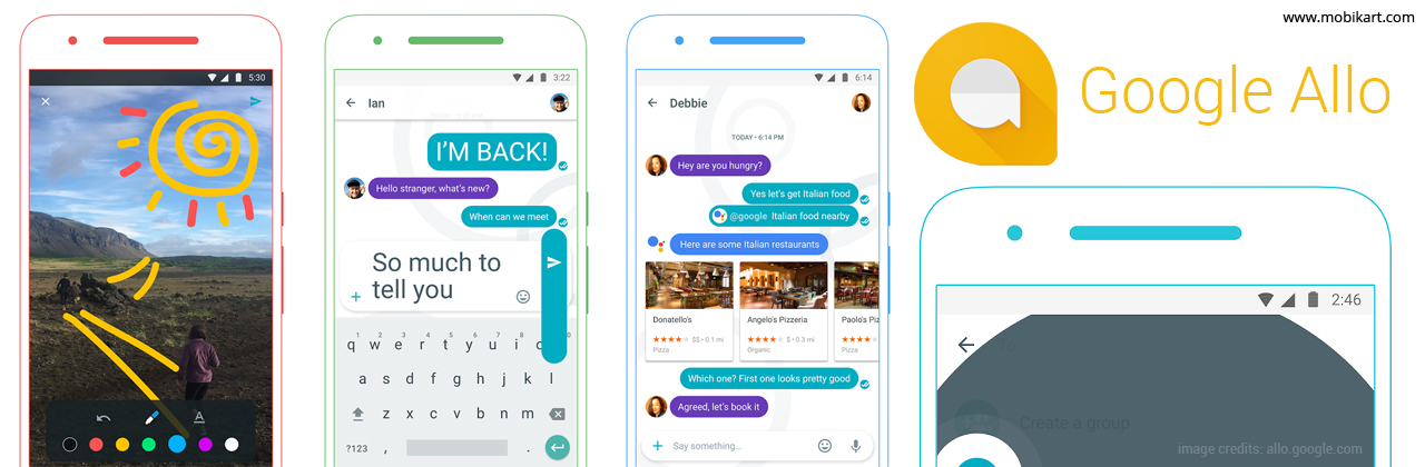 Google Allo – Makes Messaging Smarter