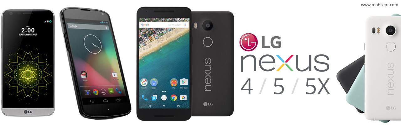 LG Google Nexus 4 / 5 / 5X