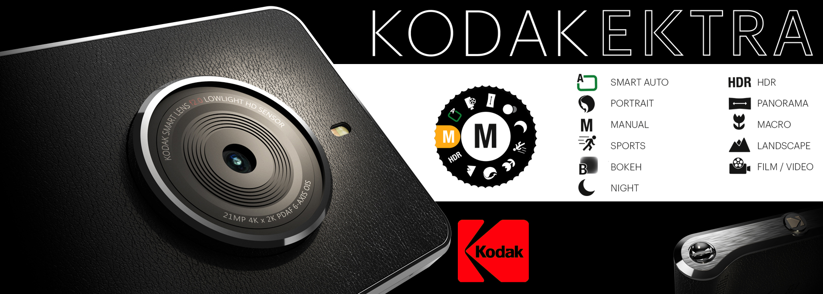 Kodak Ektra Smartphone Launched With Camera-Centric Features