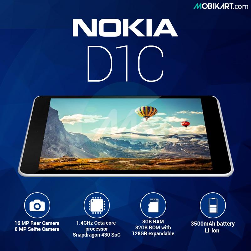 Nokia D1C – Smartphone or Tablet?