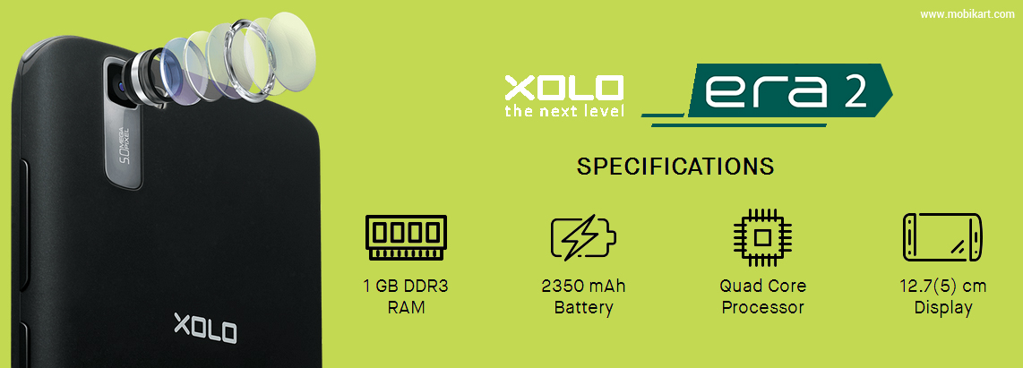 Xolo Era 2 Launched in India with 4G VoLTE at Rs 4,499