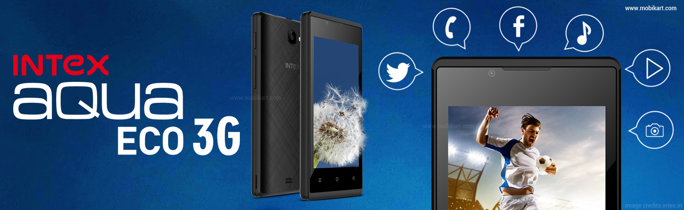 Intex Aqua Eco 3G with 4-inch Display Launched in India