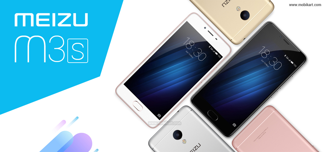 Meizu m3s Smartphone with 3GB RAM Launched in India