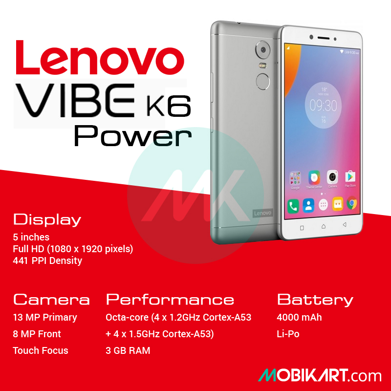 Lenovo K6 Power - A Potentially Competitive Budget Smartphone