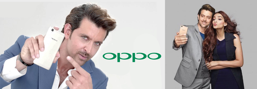 Hrithik & Sonam Kapoor are Endorsing Oppo Mobile