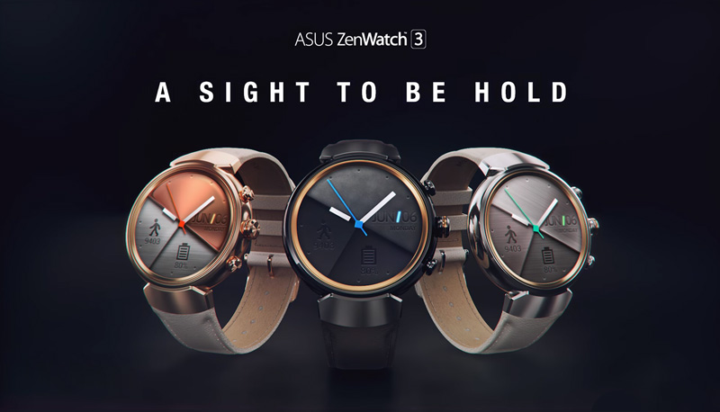 Asus Zenwatch 3 Android Smartwatch Launched in India