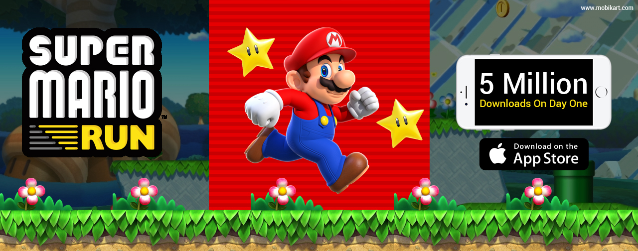 Super Mario Run Hits 5 Million Downloads On Day One
