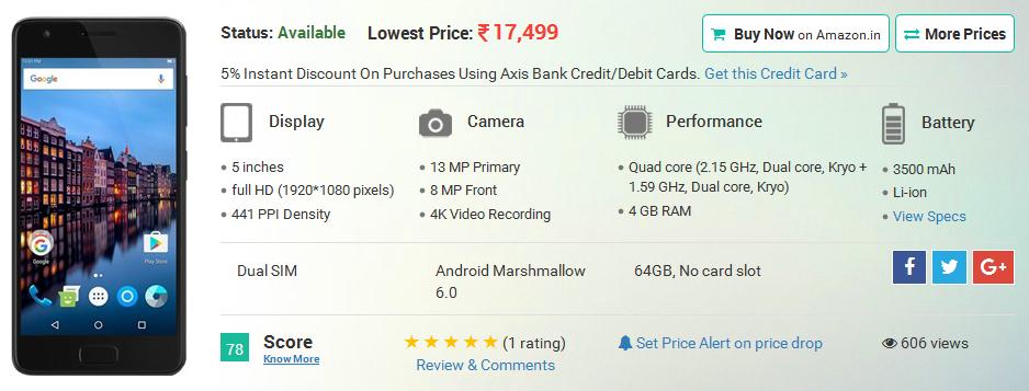 Lenovo Z2 Plus (64GB)