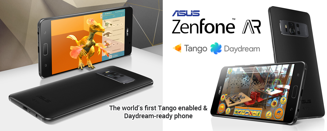 Asus Zenfone AR is the World's First Smartphone with Tango-Daydream