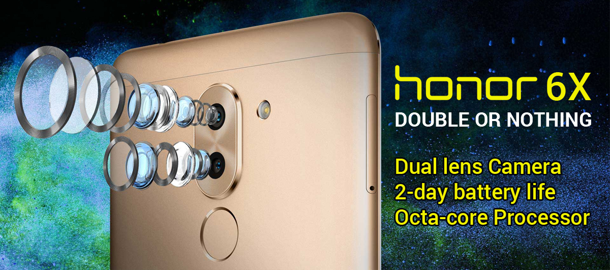 Honor 6X Launched in India Featuring Dual Rear Cameras