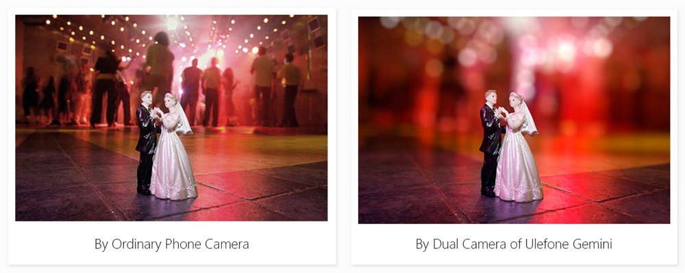 Bokeh effect for blurred background or foreground