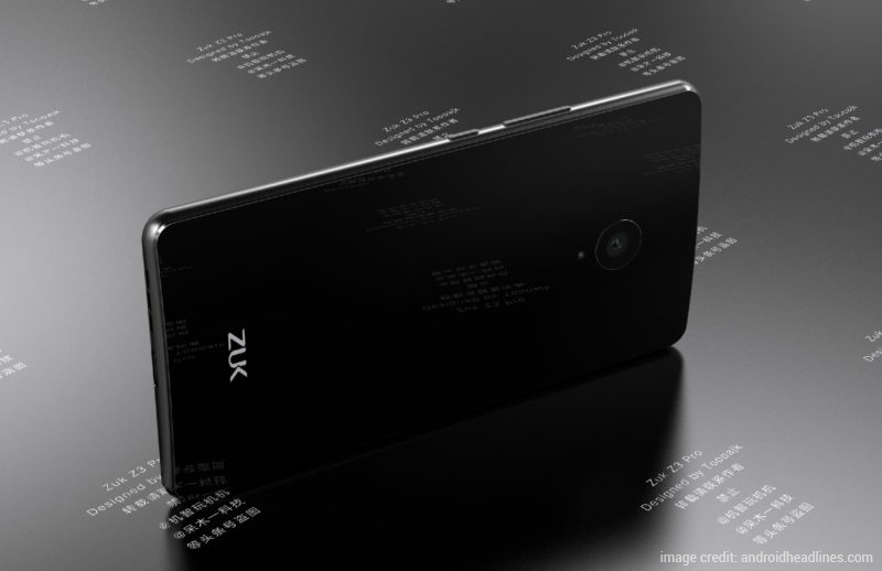 Zuk Z3 Pro with 8GB RAM Surfaces Online