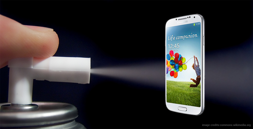 Nano-coating spray