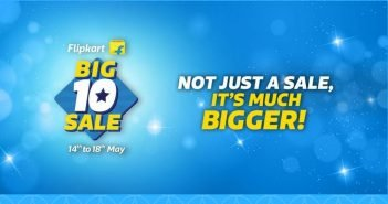 Top 10 Deals from Flipkart Big 10 Sale