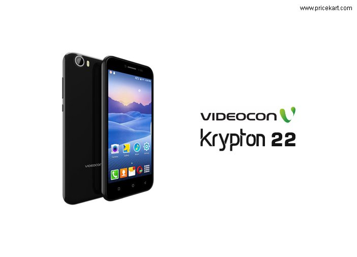 Videocon Krypton 22 Launched In India with 4G VoLTE, VoWiFi support