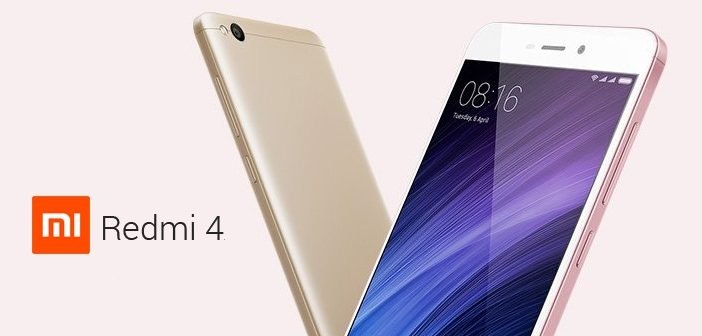 Xiaomi Redmi 4 is Likely To Launch in India Today