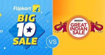 Amazon vs Flipkart Sale War: Check Discounts, Brands, Dates, More