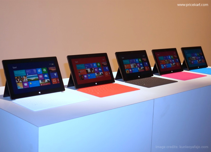 Microsoft Surface Pro 2017 Vs Surface Pro 4: Who's at Front Foot?