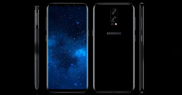 Is This The First Look of Samsung Galaxy Note 8?
