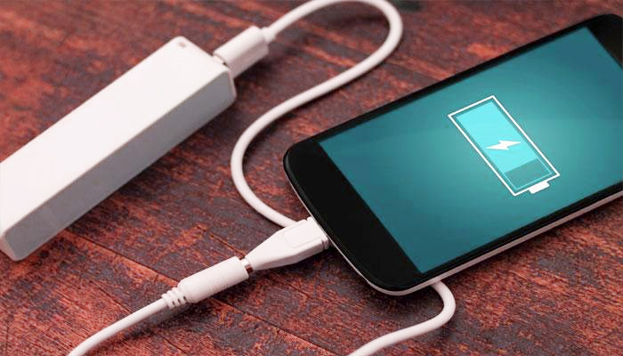 Smartphone Charging on a walk: New Research Suggested
