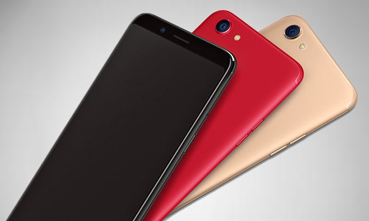 Oppo F5 with 20MP Selfie Camera, 18:9 Display Launched