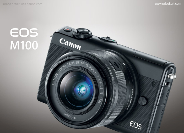 Canon EOS M100 Mirrorless Camera Launched in India