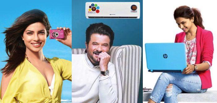 Major Brands That Indian Celebrities Endorse in 2017