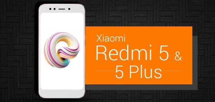 Xiaomi Redmi 5, Redmi 5 Plus Launch Date Announced
