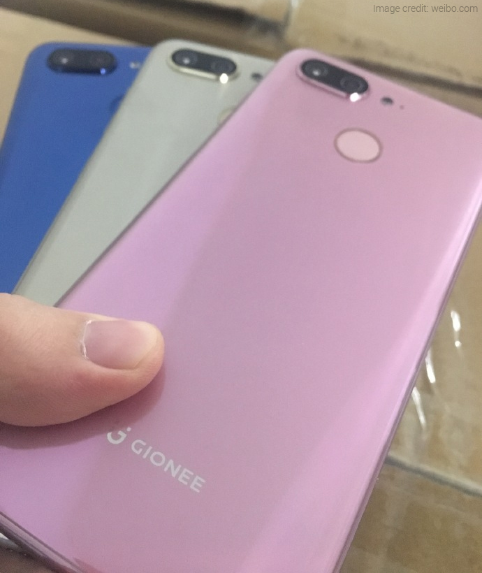 Gionee S11 Images Leaked Online, Revealed These Features