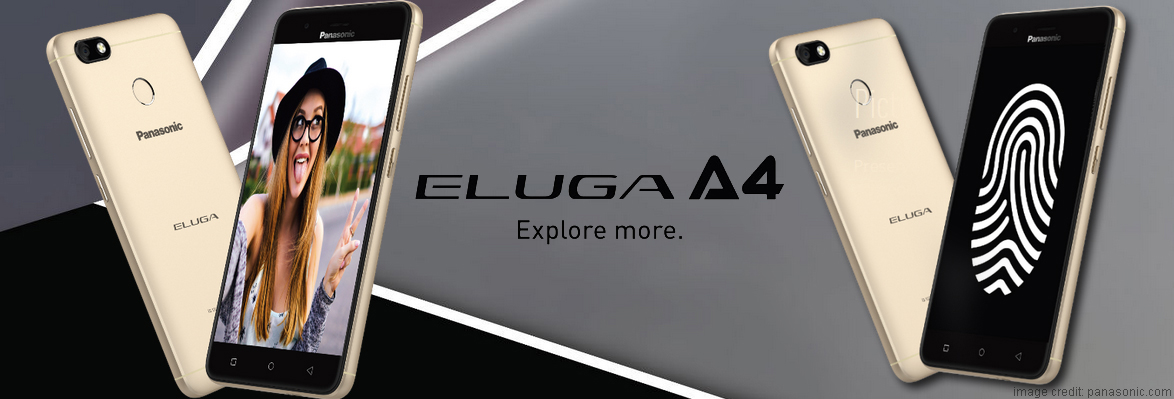 Panasonic Eluga A4 Launched in India: Specifications, Features, Price