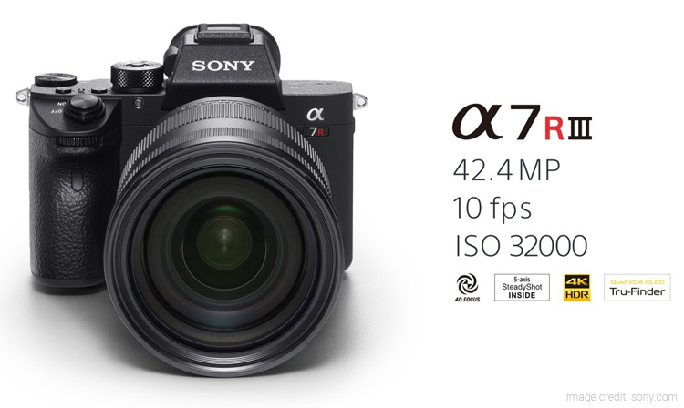 Sony A7R III Full-Frame Mirrorless Camera Launched in India
