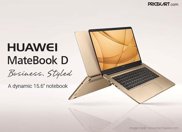 Huawei MateBook D (2018) to Feature 8th Gen Intel Core Processor